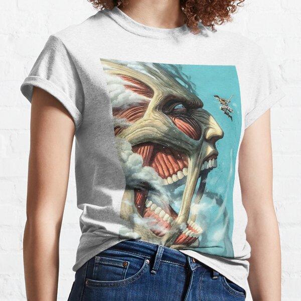 Colossal Titan vs Eren -SNK T-shirt classique