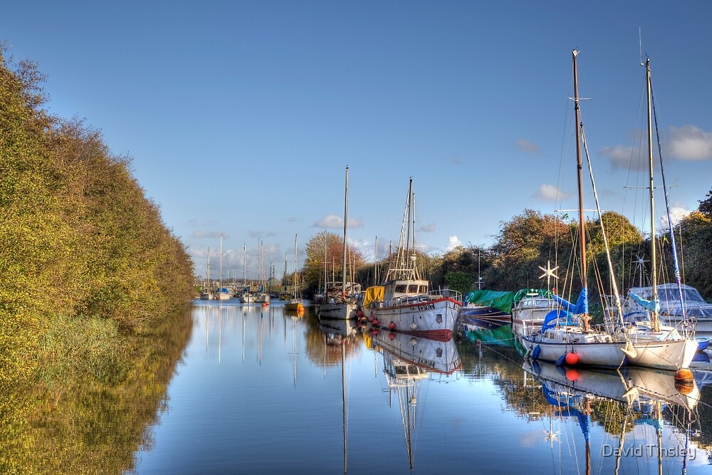 Lydney Harbour II by David Tinsley
