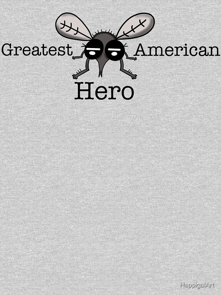 Fly, Greatest American Hero by HappigalArt