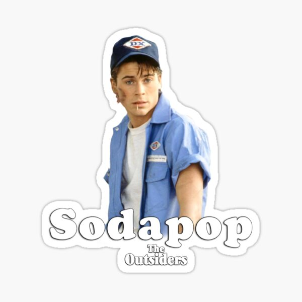 Sodapop Curtis (The Outsiders) Sticker