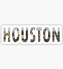 HOUSTON Sticker