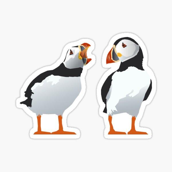 Shouty Puffin Sticker