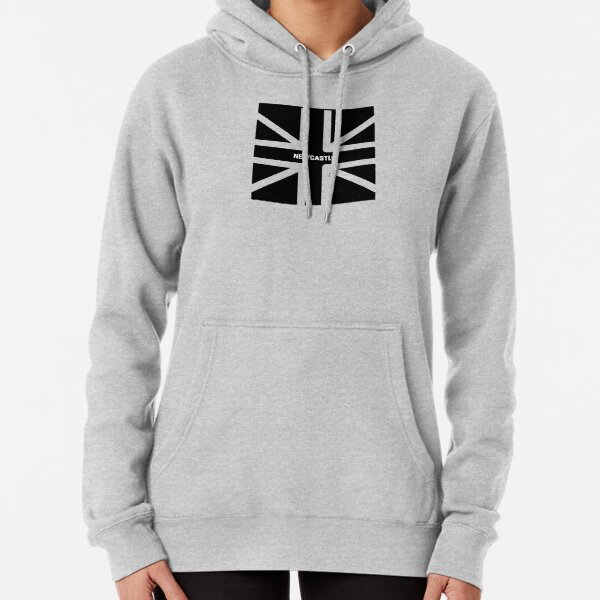 Newcastle Union Jack  Pullover Hoodie