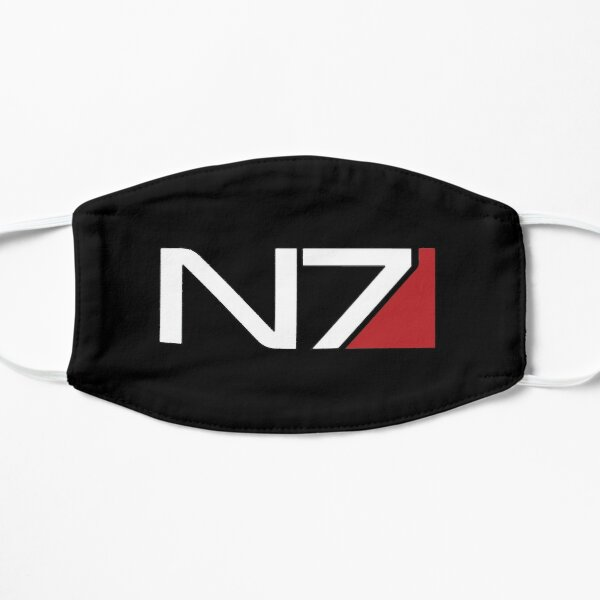 Mass Effect N7 Flache Maske