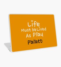 ╚»★Plato Motivational Quote Clothing & Stickers & Cases & Tote Bags & Home Decor & Stationary★«╝ Laptop Skin