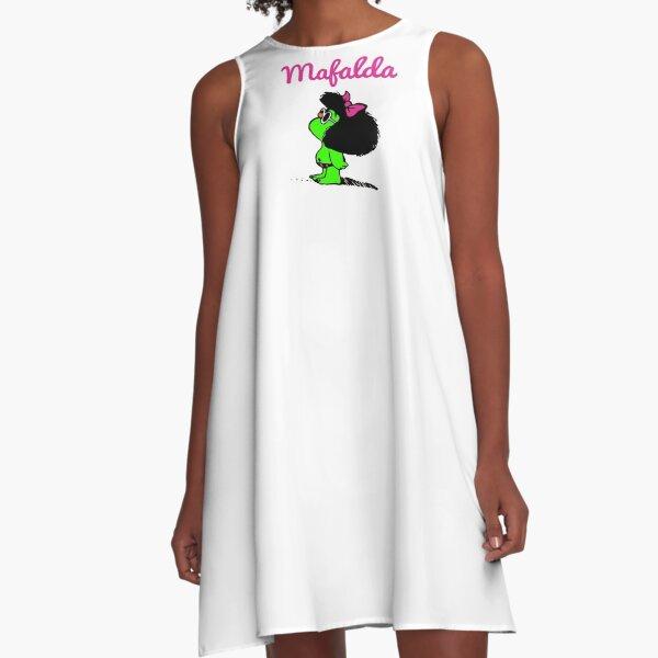 Mafalda Vestido acampanado