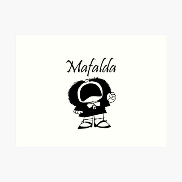 comics de mafalda quino Lámina artística