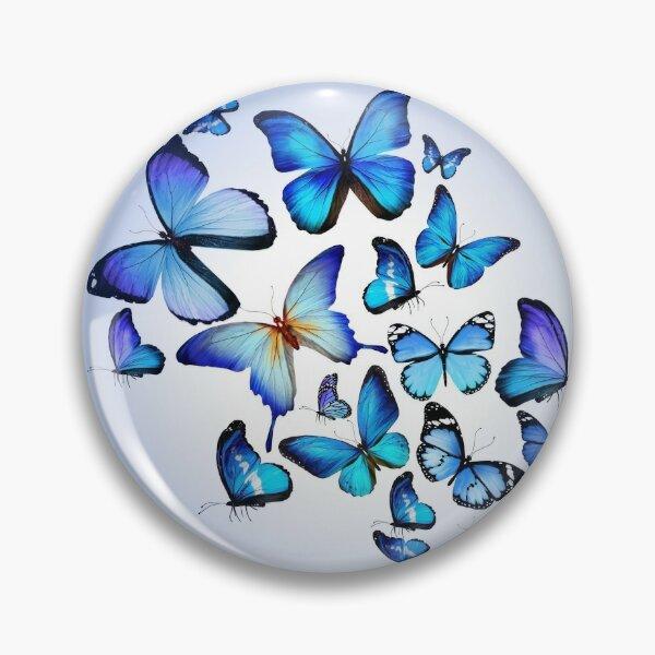 Blue Butterfly Merchandise Pin
