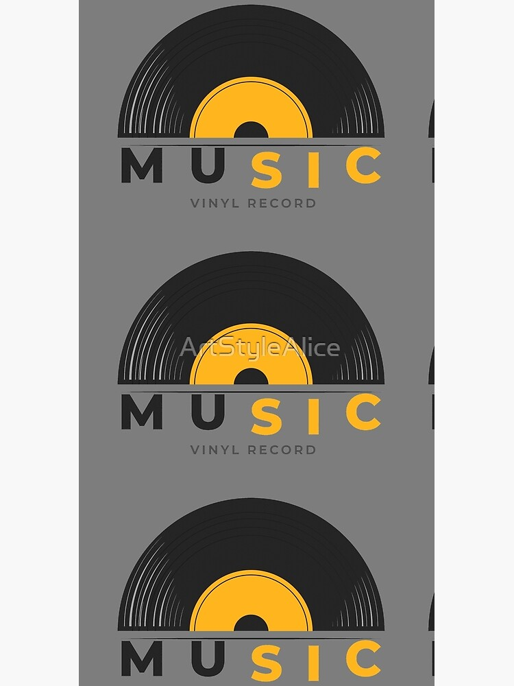 Music vinyl record by ArtStyleAlice