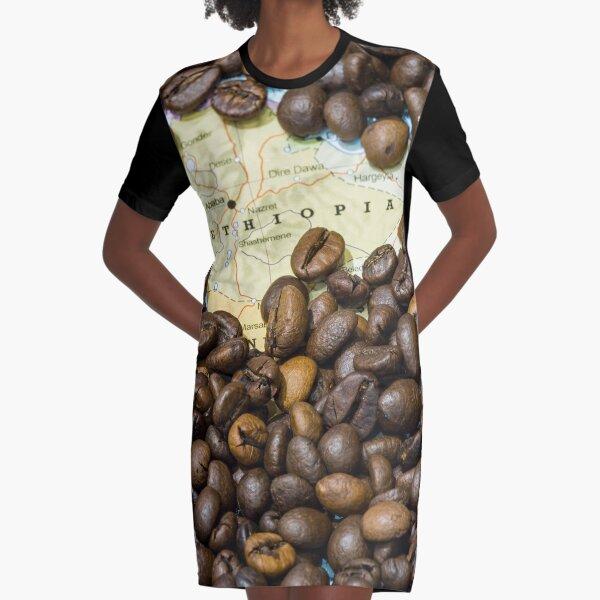Origen del café (Bunna) Vestido camiseta
