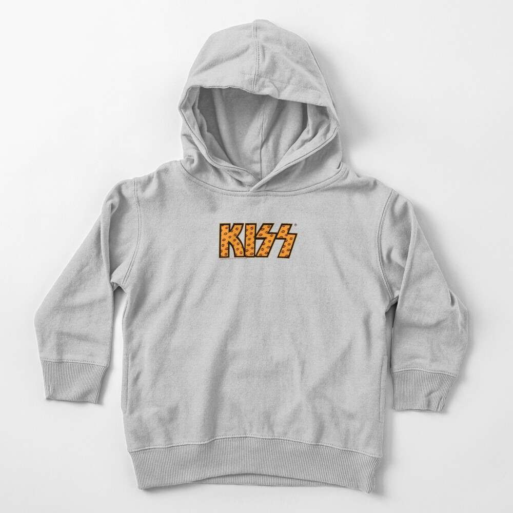 Kiss Band Lips Logo  Toddler Pullover Hoodie