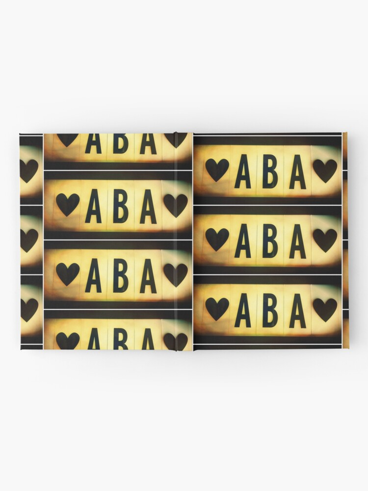 Alternate view of Father in Hebrew, Dad in Hebrew, Aba Hardcover Journal
