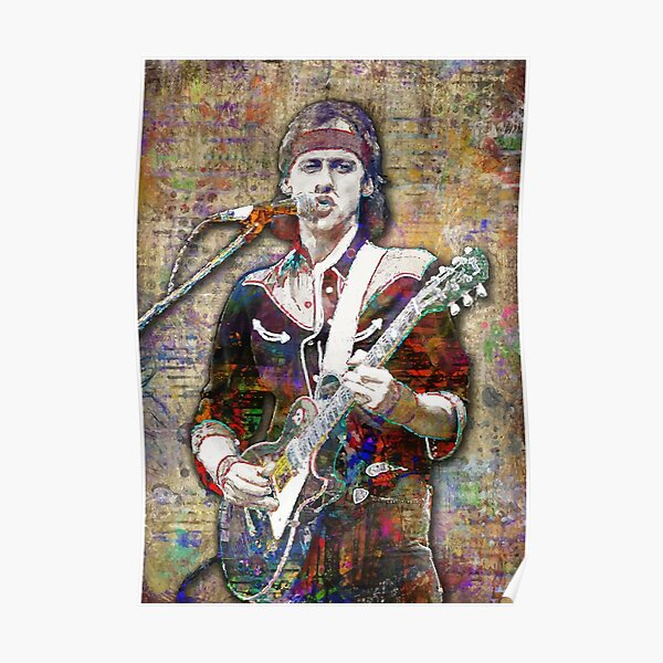 The Rockstar Dire straits Edition Poster