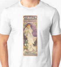 Vintage French Art Nouveau Lady of the Camelias Unisex T-Shirt