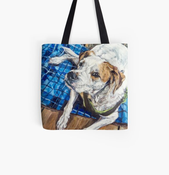 My Favorite Color is Love All Over Print Tote Bag
