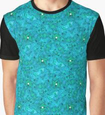 Psychedelic Sea Graphic T-Shirt