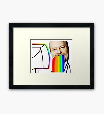 Seppo first time on pc Framed Print