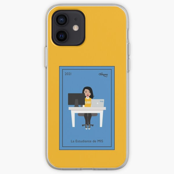 La Estudiante iPhone Soft Case