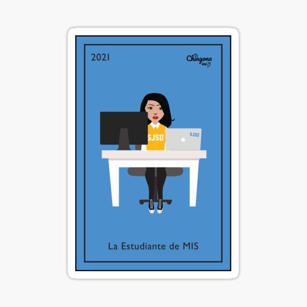 La Estudiante Sticker