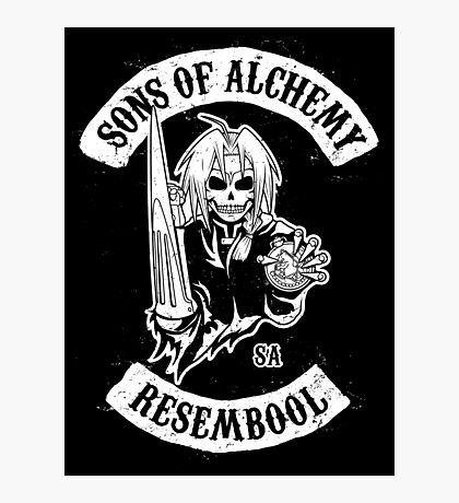 Sons of Alchemy Photographic Print