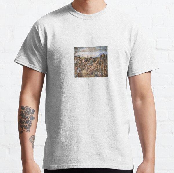 The Crucifixion of St. Peter Michelangelo Fresco Masterpiece famous artist Classic T-Shirt