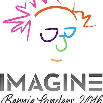 Imagine Bernie Shirt y Fundraising Gear de AndrewHart