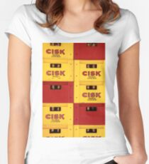 Cisk Women's Fitted Scoop T-Shirt