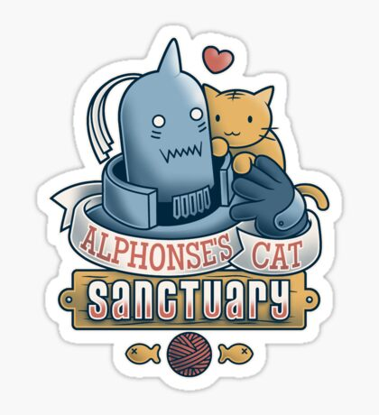 Alphonse's Cat Sanctuary Sticker