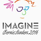 Imagine Bernie Shirt and Fundraising Gear by Andrew Hart