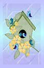 Cute Birdhouse  by LoneAngel