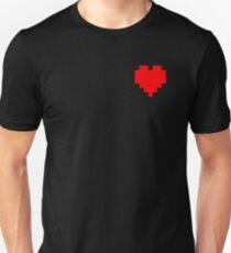 Broken Pixel - Determined Pixel Heart T-Shirt