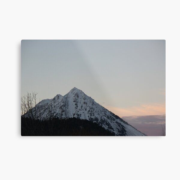 Black Butte - northern California Metal Print