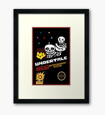 Undertale NES Edition Framed Print