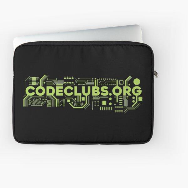 Code Clubs Ciruits Laptop Sleeve