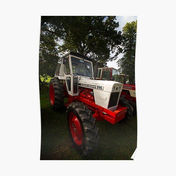 David Brown 996 Tractor Poster