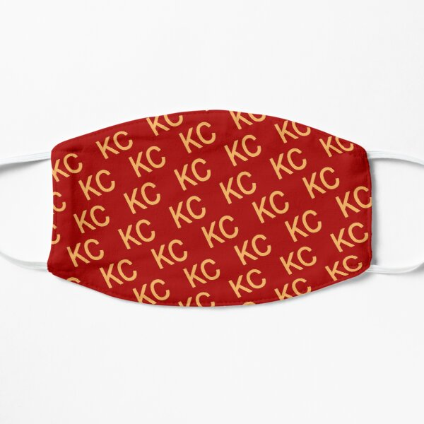 KC Chiefs Red and Yellow Mask