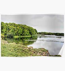 Cosmeston Lake HDR Poster