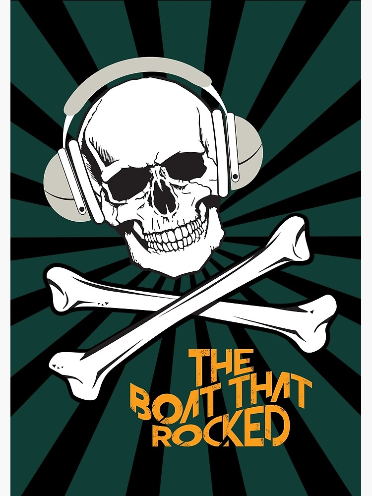 The Boat That Rocked - Alternative Movie Poster by MoviePosterBoy