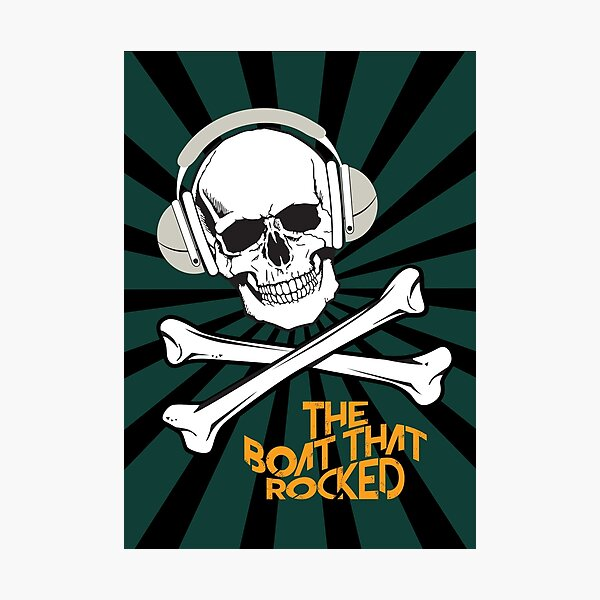 The Boat That Rocked - Alternative Movie Poster Photographic Print