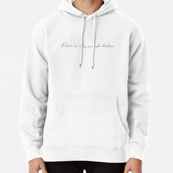 fear is the mind-killer dune Pullover Hoodie