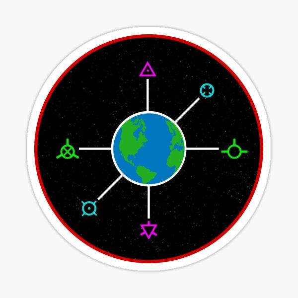 Kerbal Space Program - Earth Maneuver Node Sticker