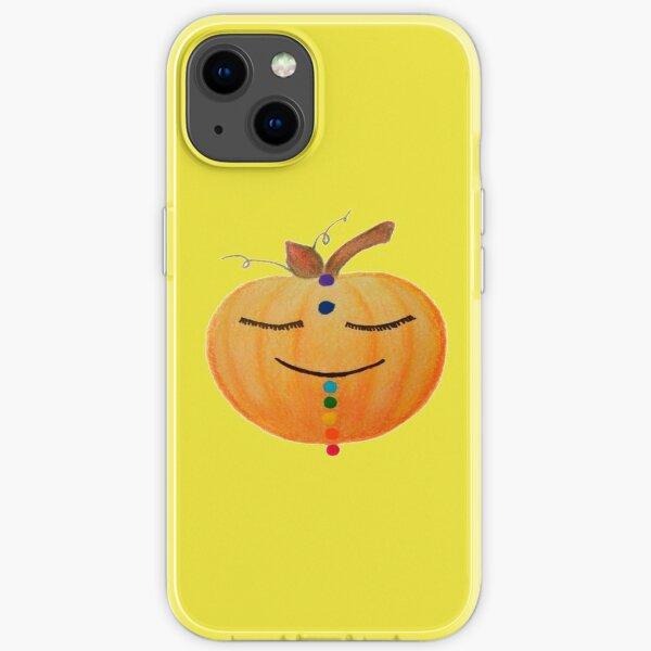 Chakra Pumpkin - Yellow iPhone Soft Case
