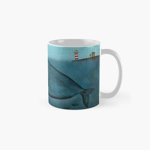 Whale and dog Classic Mug