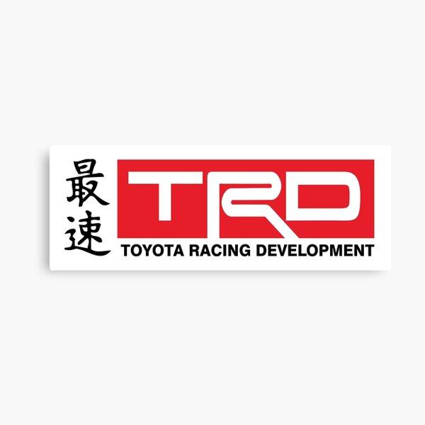 Toyota Racing Developments JDM Classic Canvas Print