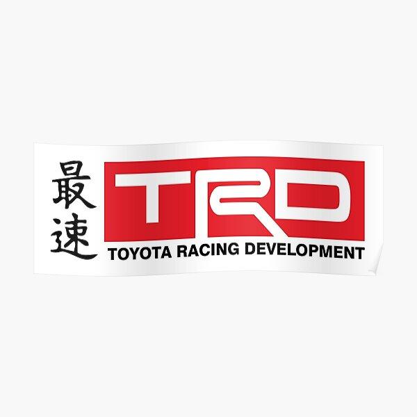 Toyota Racing Developments JDM Classic Poster