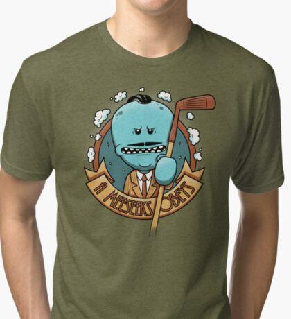 A Meeseeks Obeys Tri-blend T-Shirt