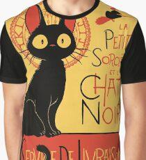 La Petite Sociere et le Chat Noir - Service de Livraison Graphic T-Shirt