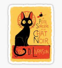 La Petite Sociere et le Chat Noir - Service de Livraison Sticker