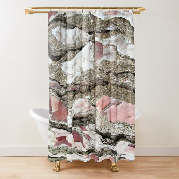 Pine Bark in Brittany Shower Curtain