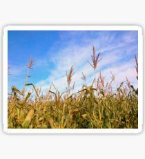 In A Wheat Field Sticker